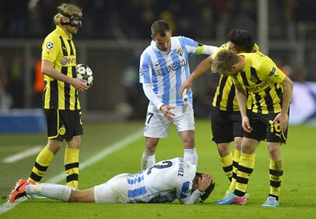 Scottish FA chief defends referee in Dortmund-Malaga controversy