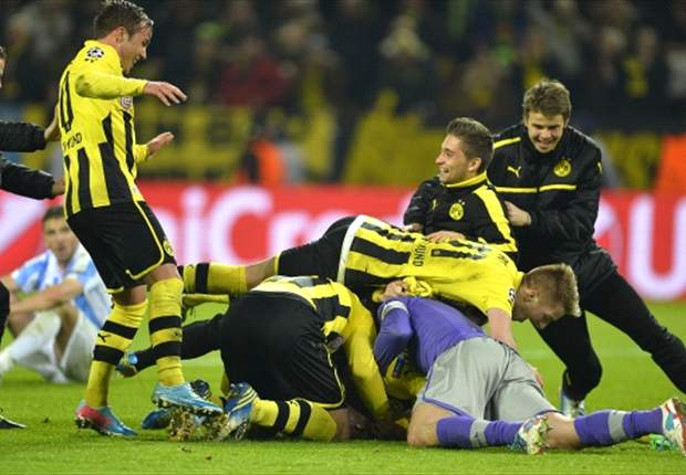 Dortmund and Malaga both winners on night of Hollywo