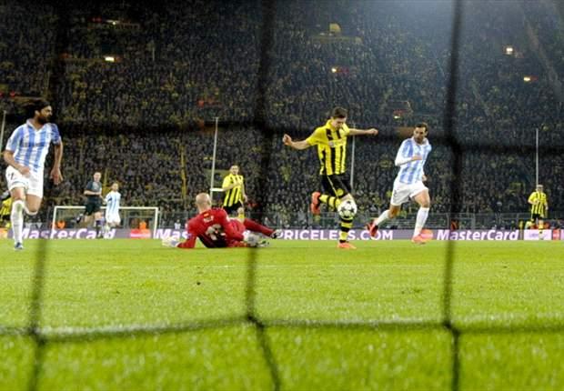 El Málaga presentará una queja oficial ante la UEFA por el arbitraje en Dortmund