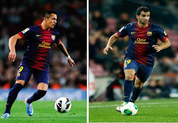 Inter scout Barcelona duo Alexis & Montoya