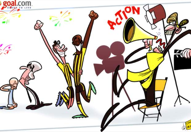 Cartoon - Dortmund - Malaga digne d'une finale