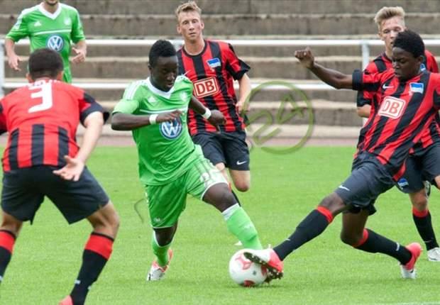 Black Starlets and Ghana still an option, says Wolfsburg's Razak Iddrisu