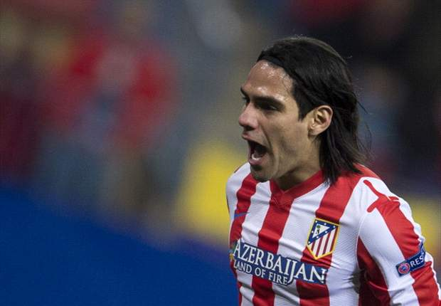 'I'm only focused on Atletico Madrid' - Falcao plays down Manchester United links