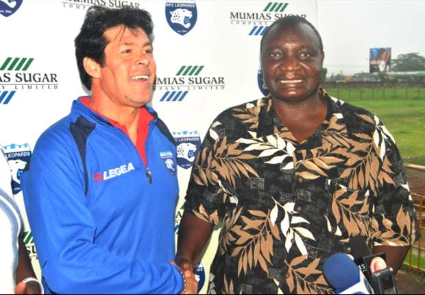 AFC Leopards' vice-chairman Walter Onyino: Coach Luc Eymael absconded duty