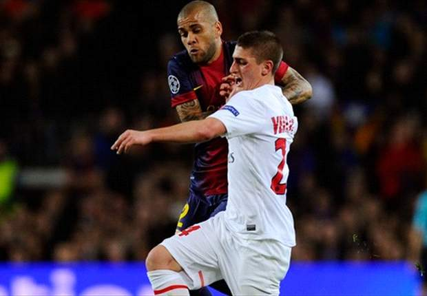 Verratti flattered by Juventus interest