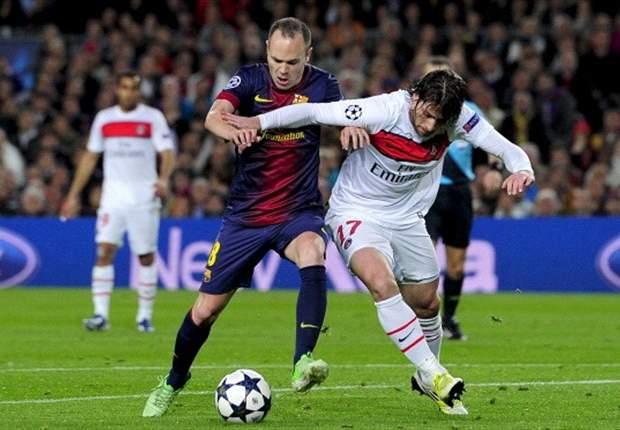 Iniesta: PSG made Barcelona suffer