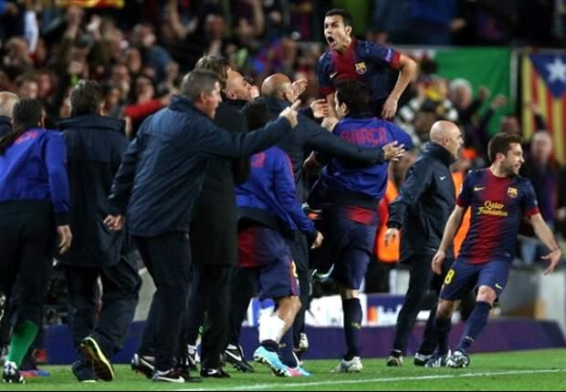 Laporan Pertandingan: Barcelona 1-1 PSG
