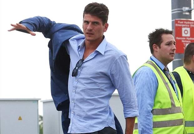 Mario Gomez, Fiorentina buatnya terkesan.