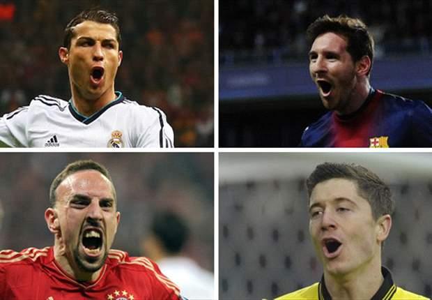 Big Four: Bayern gegen Barca und Real gegen Dortmund