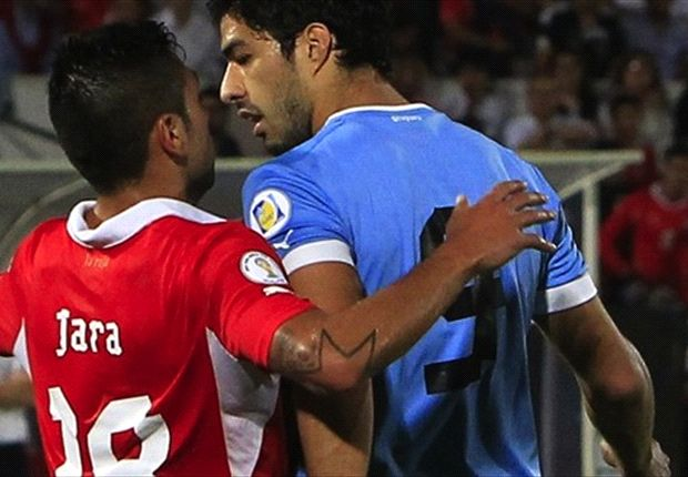 Suarez escapes Fifa punishment after appearing to punch Chile player