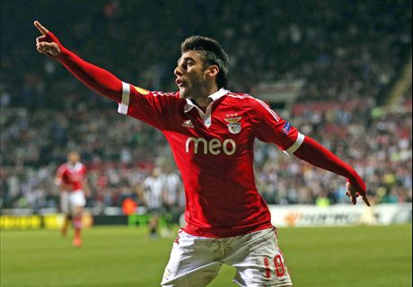 Benfica just as good as Juve, says Salvio