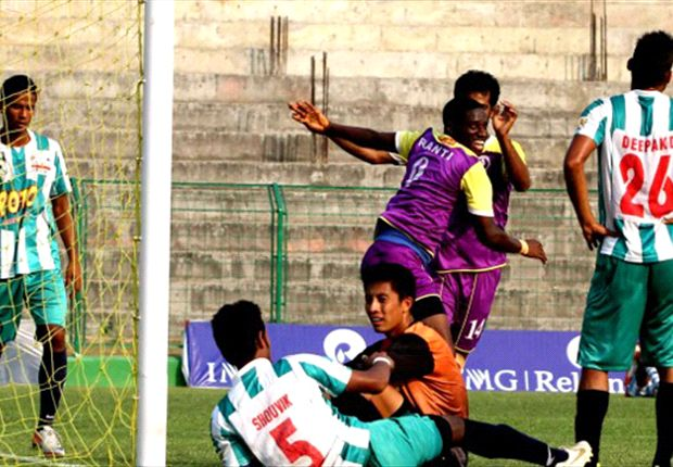 Prayag United 4-1 Pailan Arrows: Eelco Schattorie's side rises to third in the standings