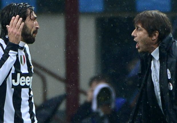 'Conte is a genius, more so than Sacchi' - Pirlo