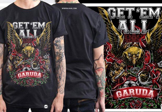 Get 'Em All Garuda, Juara Kontes Desain T-Shirt GOAL.com Indonesia