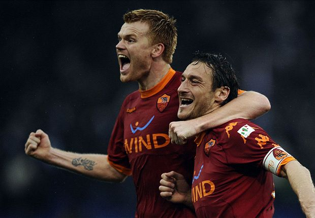 Riise: Gerrard a great leader but Totti is a god