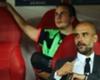 Pep Guardiola (vorne) kann wieder auf Mario Götze zurückgreifen