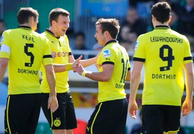 Greuther Furth 1-6 Borussia Dortmund: Gotze & Gundogan at the double as Klopp's men strengthen grip on second spot
