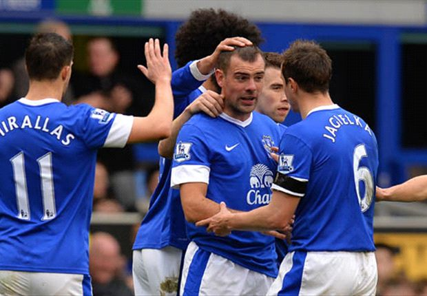 Everton 2-0 QPR: Gibson & Anichebe all but condemn Rangers to relegation