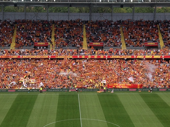 Ligue 1 / Ligue 2 : le RC Lens s'offre la meilleure affluence du week-end en France
