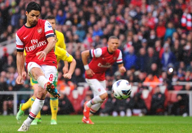 Arsenal fear thigh injury could keep Arteta out for a month