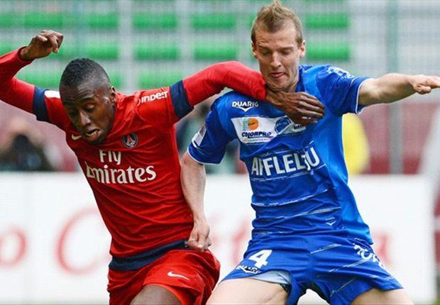 Troyes 0-1 Paris Saint-Germain: Matuidi moves perfunctory Parisiens 10 points clear