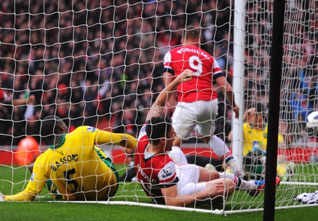 Arsenal hold their nerve again as Norwich provide timely wake-up call
