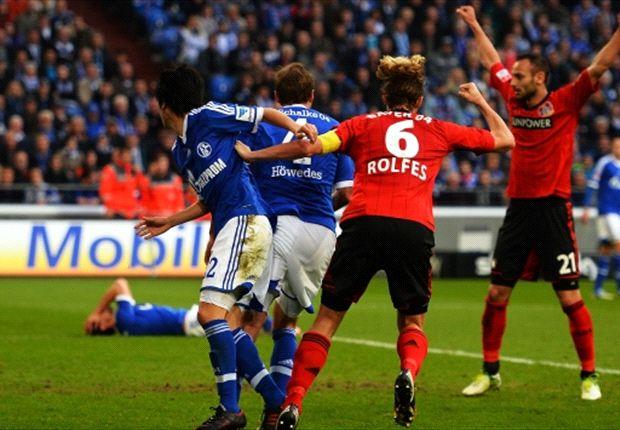 Der FC Schalke ist sauer auf Bayer Leverkusen und den Schiedsrichter