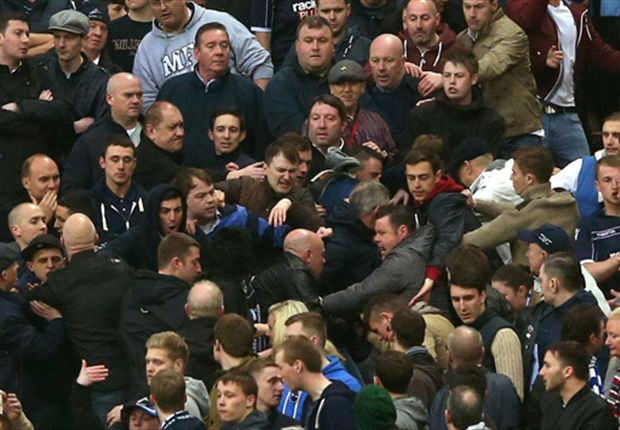 FA Cup semi final soured by Millwall hooligans