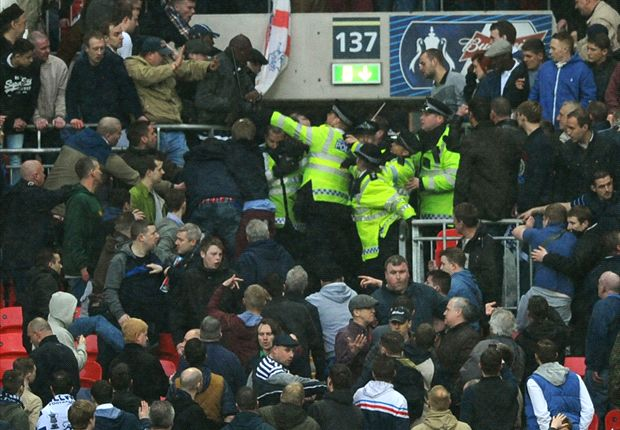 Football's weekend of shame: 43 Newcastle and Millwall hooligans arrested