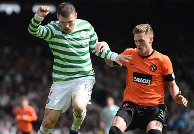 Dundee United boss McNamara proud of youngsters' performance against Celtic