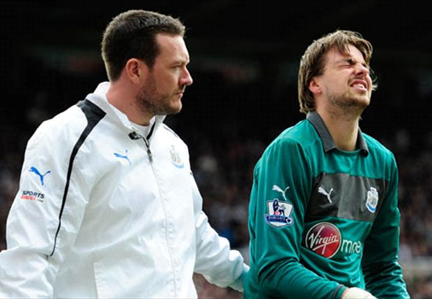 Newcastle goalkeeper Krul pleased with recovery
