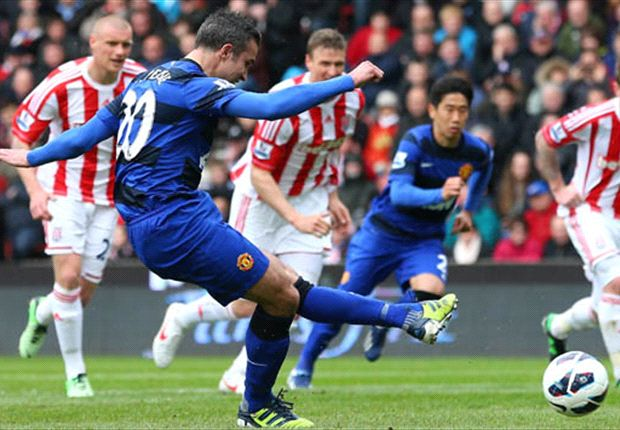 We've given Van Persie stick for his goal celebration, reveals Evra