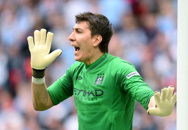 Pantilimon desperate for FA Cup success as he heads for Manchester City exit