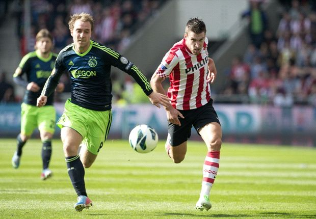 Eredivisie Round 30 Results: Ajax beat PSV to open up a five point lead at the top