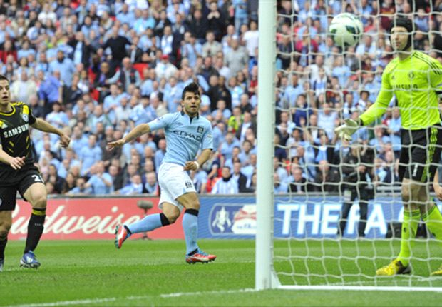Chelsea 1-2 Manchester City: Aguero goal secures FA Cup final berth for Mancini's men