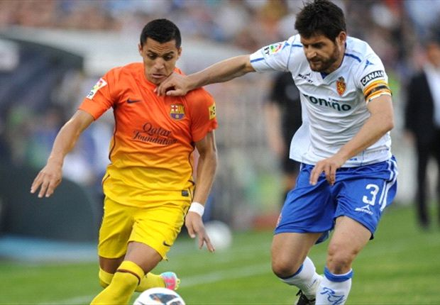 'Barça B' zonder moeite langs Zaragoza