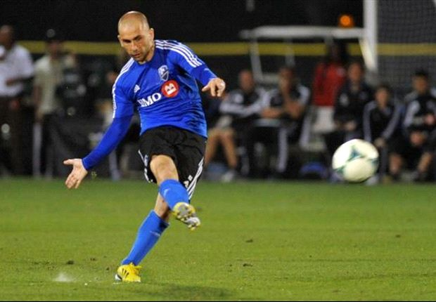 Marco Di Vaio matched Philadelphia's Jack McInerney for the MLS lead with his 10th goal of the season.