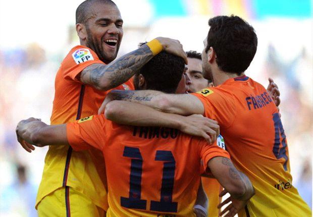 Der FC Barcelona spaziert mit B-Elf zum 3:0-Sieg bei Real Saragossa
