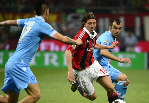 Montolivo pleased with point against Napoli