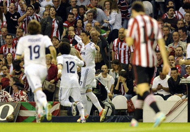 Ronaldo wijst Real de weg in San Mames