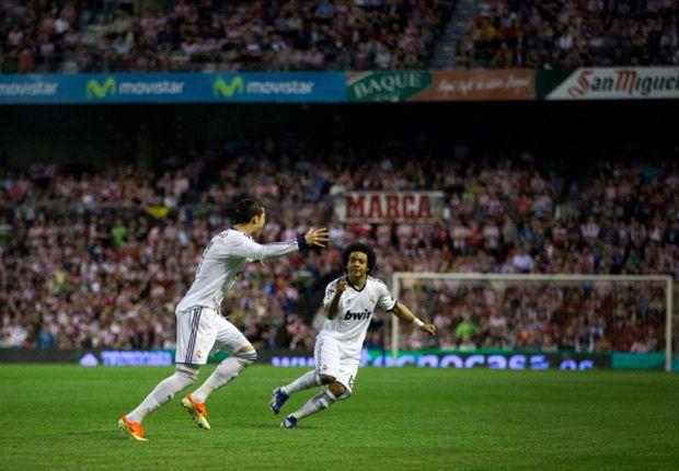 Cristiano Ronaldo deja su sello en San Mamés