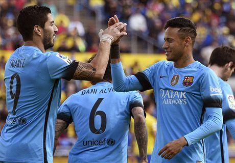 Neymar strike seals three points for Barca