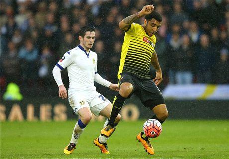 Watford 1-0 Leeds: OG puts Watford through