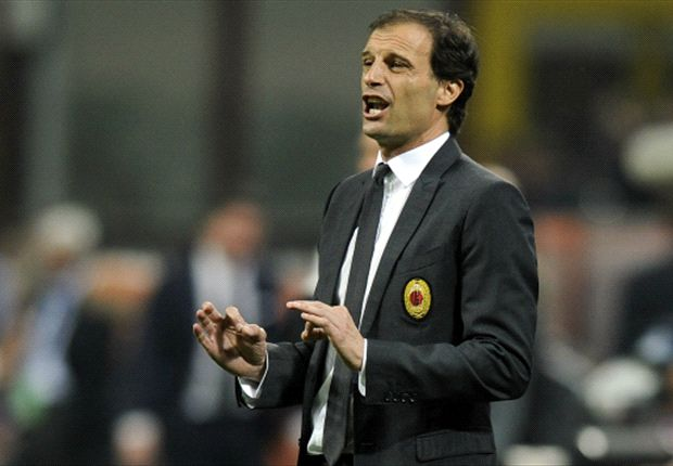 Allegri thanks Milan fans for support