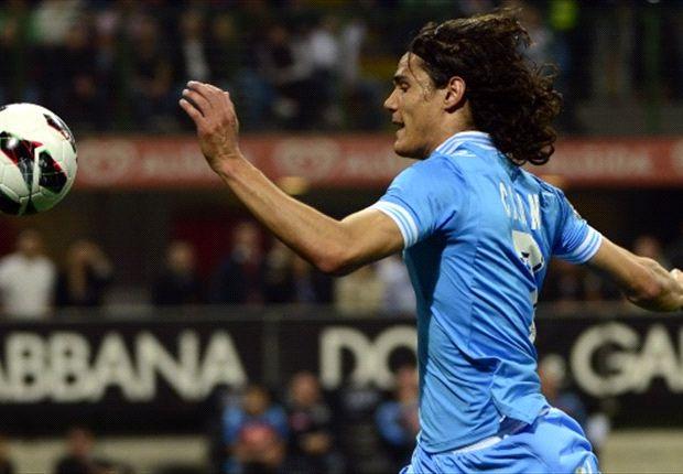 Cavani considering Napoli future, says agent