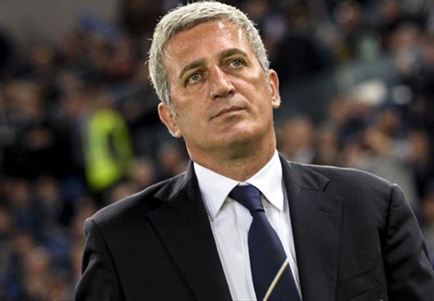 Lazio-Trainer Vladimir Petkovic war mit dem Auftreten seiner Mannen zufrieden