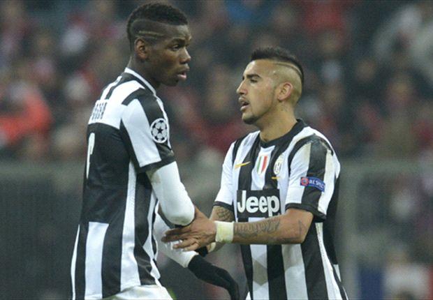 Juventus le renueva a Vidal y declara intransferible a Pogba