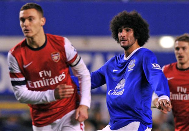 Fellaini could be set for Arsenal switch