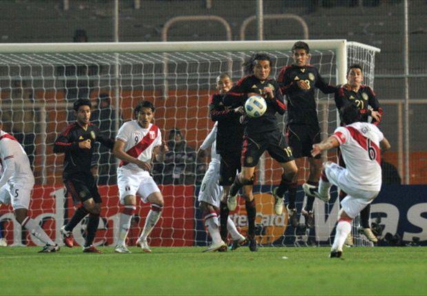 Por vez primera en la historia, México suma cinco empates consecutivos
