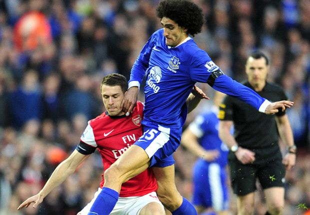 Arsenal make Fellaini bid